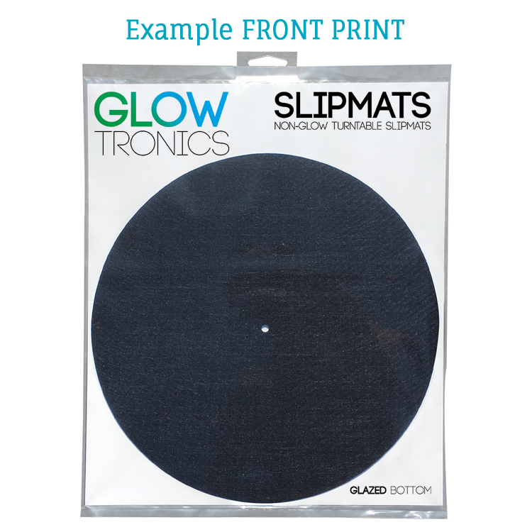 12 X14 Insert Card For Slipmat Glowtronics