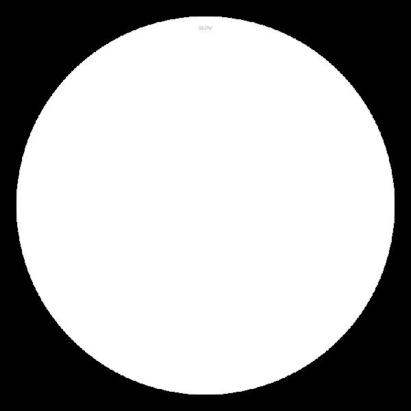 Solid-Snow-White-Non-glow-Slipmats