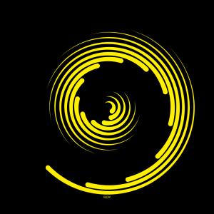 Spiral-Non-glow-Slipmats