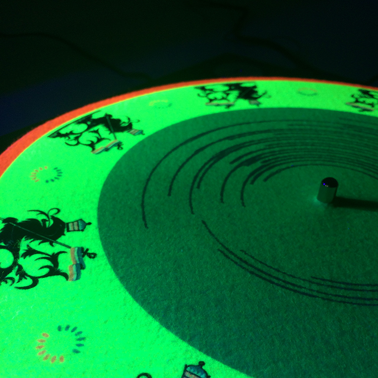 UV/Blacklight Slipmats