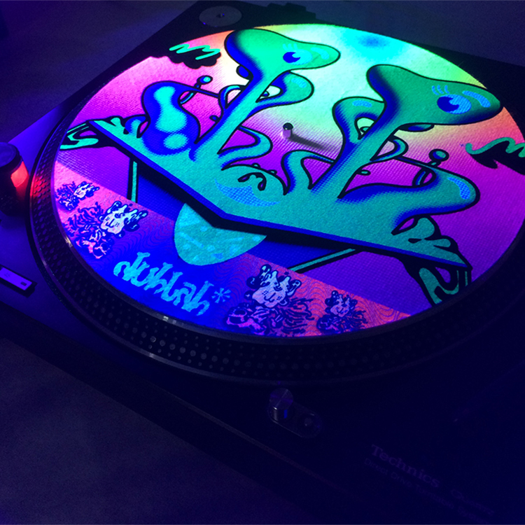 Blacklight Sublimation Printing Slipmats