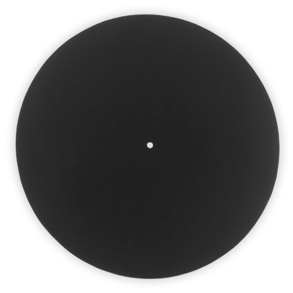 12inch 21oz Black Blank Slipmats