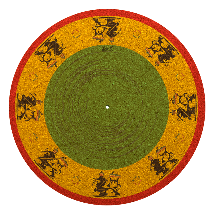 Rasta Lion Cork Slipmat