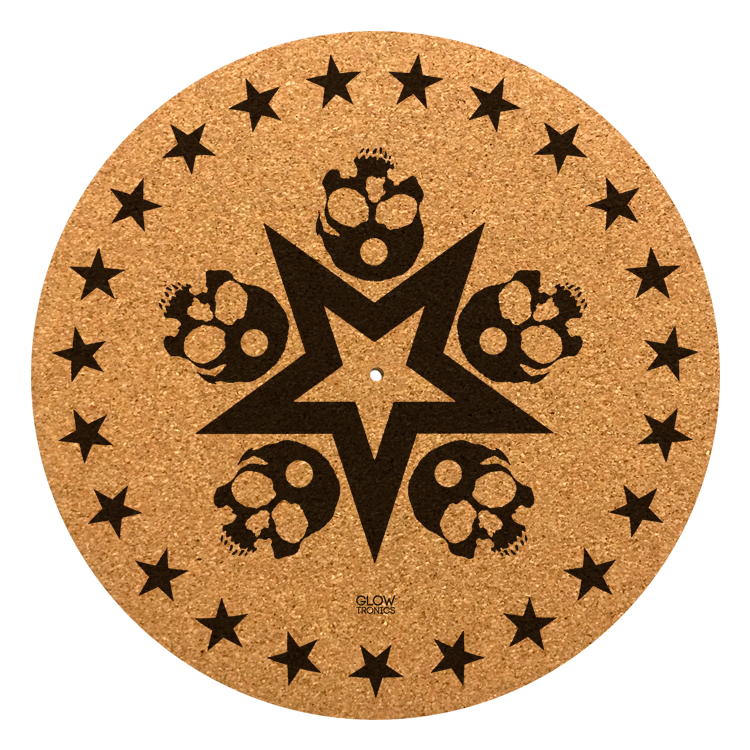 Skull Star Cork Slipmat