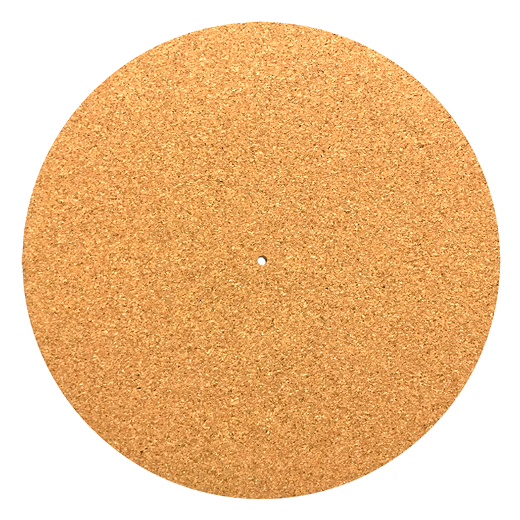 Blank Cork Slipmat For Turntable Glowtronics